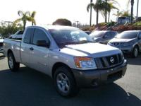 2008 NISSAN TITAN Check the CARFAX...one owner! Priced