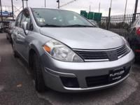 Drive away with this beautiful 2008 Nissan Versa. Down