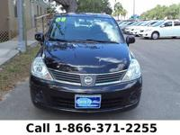 2008 Nissan Versa 1.8 SL Features: Warranty - Keyless