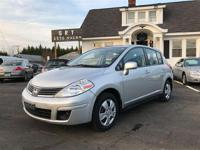 2008 NISSAN VERSA Front with powerful 1.8L DOHC CVTCS