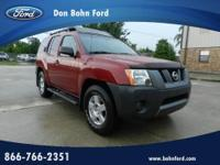 Don Bohn Ford presents this 2008 NISSAN XTERRA SUV with