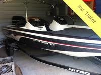 2008 NItro Z6 Dual Console Bass Boat Comfort, Safety,
