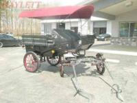 We had this carriage custom built in Poland. It was