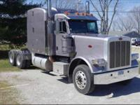 You are bidding on a 2008 Peterbilt 388 with a 485 HP