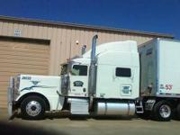 2008 PETERBILT 389 70 inch high rise sleeper, C15 ACERT