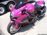 2008 GSXR 1000 custom sportbike. Bike is in great shape