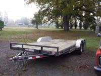 "Just in - 2008 PJ Car Hauler 83"" x 18' Deck 18' (16'"