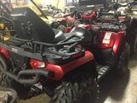 A MUST SEE 2008 POLARIS 800 SPORTSMAN 2 UP WITH WINCH