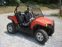 I have a 2008 Polaris RZR for sale. $8700. LIKE NEW!!!