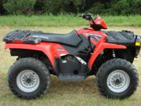 2008 Polaris Sportsman 4x4 500 HO. Super clean, great