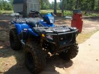 2008 Polaris Sportsman 800 with Swamp Lite tires. Lots