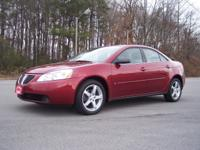 Options Included: 2008 Pontiac G6 Sedan V6. It features