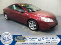 2008 Pontiac G6 GT Highlighted with Power Moonroof,