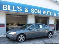 This 2008 Pontiac G6 GT includes: CLEAN VEHICLE HISTORY
