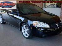 2008 Pontiac G6 GT Convertible Pre-Owned. When I open