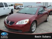 Discover our '08 Maroon Pontiac G6 GT. it is all about