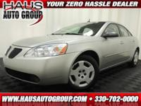 2008 Pontiac G6 Sedan 1SV Value Leader Our Location is: