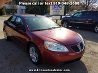 ONLY 94K MILES!!! This PONTIAC G6 is available for