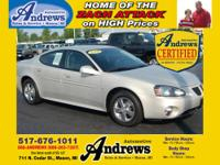 Andrews Automotive Certified Used! 2008 Pontiac Grand