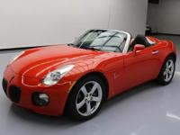 This awesome 2008 Pontiac Solstice comes loaded with