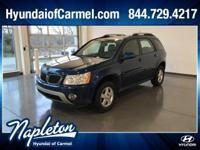 Deep Blue Metallic 2008 Pontiac Torrent Clean CarFax