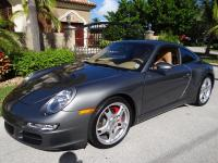 2008 Porsche 911 Carrera 4S Exterior Color: Gray