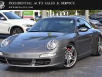 This 2008 Porsche 911 2dr 2dr Coupe Carrera 4S features