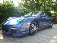 2008 Porsche 911 997 Turbo Cabriolet Convertible Blue
