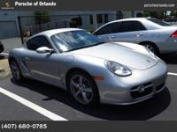 2008 Porsche Cayman Our Location is: Porsche Of Orlando