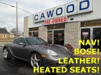 Options:  2008 Porsche Cayman S|Meteor Gray