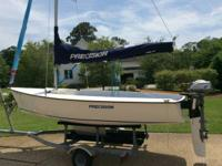 2008 Accuracy 15K (Keel) Sailboat with 2008 galvanized