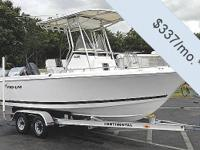 You can have this vessel for just $337 per month. Fill