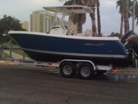 2008 PROLINE 23' SPORT FISHING BOAT WITH CENTER