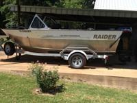 Up for auction is my 2008 Raider 185 Pro Fisherman.