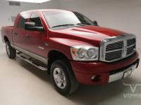 This 2008 Ram 1500 Laramie Mega Cab 4x4 with only 96560