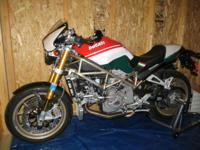 This is a very rare ducati. Only 400 were made and mine