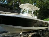 2008 Robalo R240 Center Console With T Top, Like New