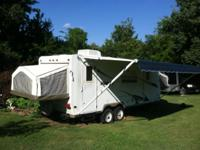 2008 rockwood roo 23b hybrid with slideout , central