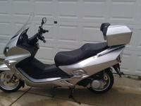 500 miles only on this awesome scooter... alarm, remote