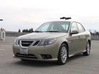 Options:  2008 Saab 9-3 2.0T 4Dr Sedan|Brown|2-Stage