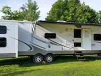 08 Sand piper Bunkhouse 351BHT 40 foot camper with 3