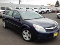 Options:  2008 Saturn Aura Xe 4-Cylinder|||139303