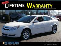 Options:  2008 Saturn Aura Xe|White|3.5L V6 Vvt.