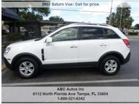 Saturn Vue XE 4dr SUV Automatic 4-Speed White 100787 I4