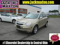 VERY NICE SATURN VUE AWD XR!!! CLEAN CARFAX, 2-OWNER