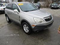 Options:  2008 Saturn Vue Fwd 4D Wagon Xe|Silver|Air