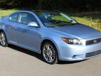 New Price! Clean CARFAX. Wave Line Pearl 2008 Scion tC