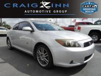 CarFax 1-Owner, LOW MILES, This 2008 Scion tC 2DR