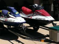 2008 Sea Doo GTI SE130 and a 1996 Sea Doo GFX 110. Just