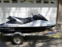 2008 Sea-Doo RXP-X built to IJSBA Open Class spec. Ski